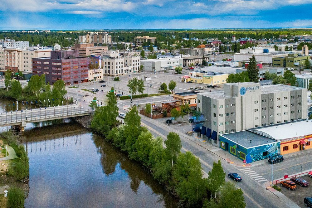 bridgewater hotel fairbanks location